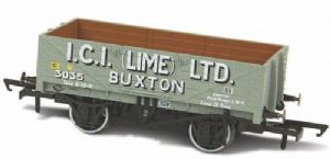 Oxford Rail 76MW5005 I.C.I.(Lime) Buxton 5-Plank Open